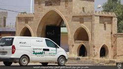 بالصور| داعش يبدأ في تدمير دير مار بهنام السريانى الذى يعود للقرن الرابع الميلادى