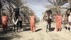 بالصور | داعش يبتكر أسلوبا جديدا في عمليات التعذيب والإعدام