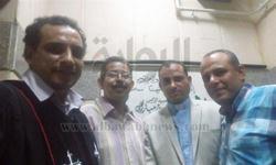 بالفيديو والصور |  أفراد أمن يعتدون على 3 قساوسة بالإسماعيلية