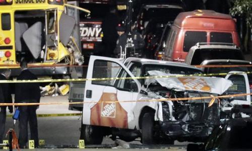 إصابات عديدة في حادث دهس بنيويورك