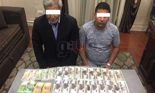 ضبط تركي يتزعم تشكيلا عصابيا لسرقة شركات الصرافة بوسط القاهرة
