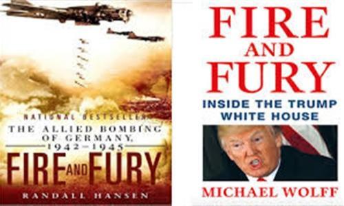 «النار والغضب» يتصدر قائمة الكتب الأعلى مبيعا في الولايات المتحدة
