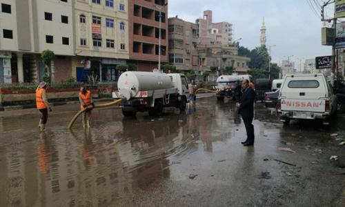 طوارئ بالغربية لمواجهة الأمطار والعواصف الرعدية
