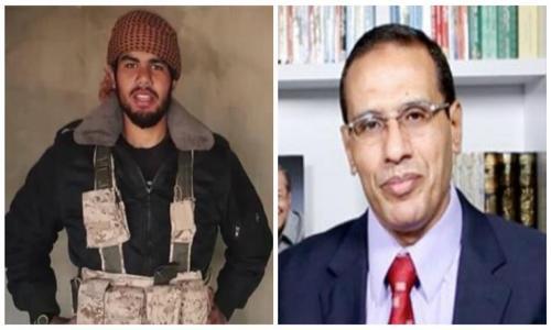 والد الإرهابي عمر الديب يعترف بانضمامه للتنظيم الارهابى :