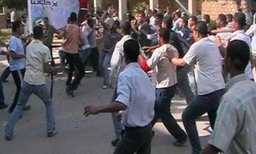 نيابة الفشن تحقق في الاعتداء علي كنيسة ميمن.. والقبض علي 11 مسلما و 9 أقباط