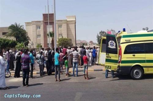 إصابة 3 أمناء شرطة إثر تصادم بالطريق الصحراوي في وادي النطرون