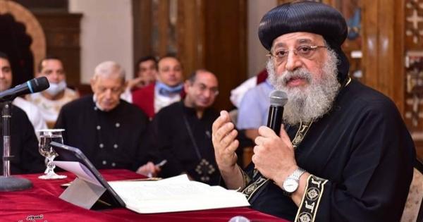السلام فى زمن الحروب والنزاعات.. تفاصيل عظة البابا تواضروس الأسبوعية
