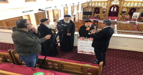 الكنيسة تستعد لإحياء ذكرى الأربعين لنياحة القمص لوقا سيداروس - فيديو وصور