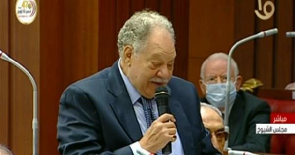 يحيى الفخراني يؤدي اليمين الدستورية أمام مجلس الشيوخ .. فيديو