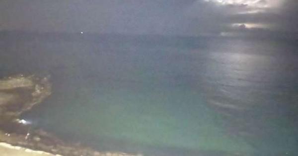 صور.. رعد وبرق في سماء الإسكندرية