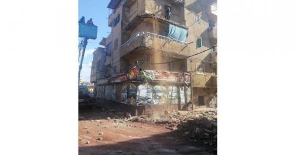 انهيار 4 شرفات لعقارين بحي المنتزه أول في الإسكندرية | صور