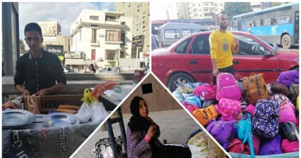 حكايات الباعة الجائلين تحت المطر: بنحارب الظروف والجو عشان لقمة العيش