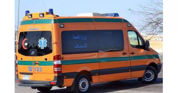 انقلاب سيارة ميكروباص وإصابة عدد من الركاب بالسلام | صور