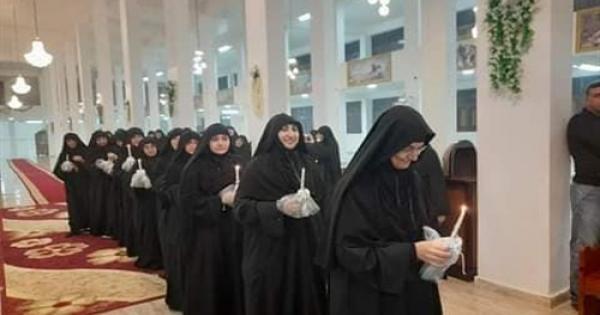 أسقف ديروط يترأس سيامة 12 راهبة جديدة