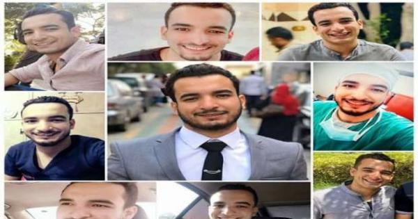 الأهالي يشيعون جثماني ضحيتي حادث الطعن في طوخ