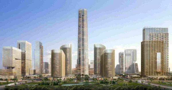مصر تقترب من إنهاء بناء أعلى برج في إفريقيا - صور