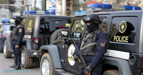 مصدر أمنى : الشرطي قاتل زملائه ببني سويف أصيب بحالة هياج مفاجئ
