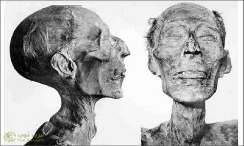 بالصور شركة فرنسية تظهر الوجه الحقيقى لفرعون بإستخدام تقنيات حديثة