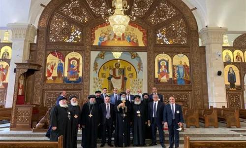 كاتدرائية بشائر الخير في الإسكندرية.. مساحتها 3200 متر وتسع لـ700 مصلي