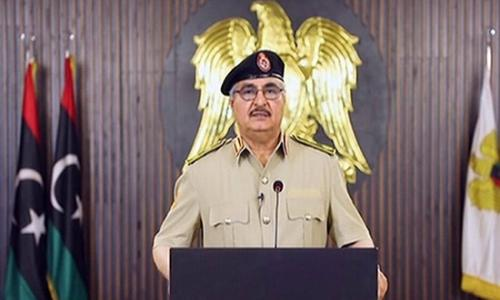 حفتر : كل تركي ومرتزق على أراضينا هدف مشروع للجيش الليبي