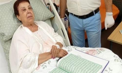 بانتظار فرج ربنا.. تسجيل صوتي مؤثر للفنانة رجاء الجداوي بعد إصابتها بـ كورونا
