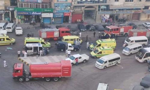 قرار عاجل من النيابة بشأن جثث ضحايا حريق مستشفى بدراوي المصابين بكورونا