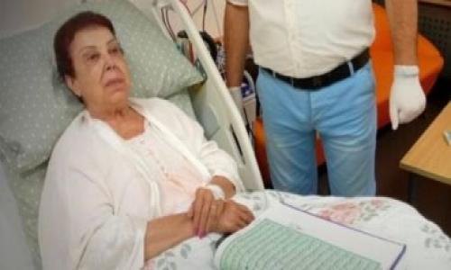 مصدر طبى بمستشفى أبو خليفة : حالة الفنانة رجاء الجداوى اصبحت حرجة داخل العناية المركزة