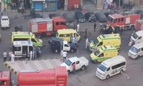 ماس كهربائى وراء حريق مستشفى خاص ومصرع 7 مرضى بالإسكندرية