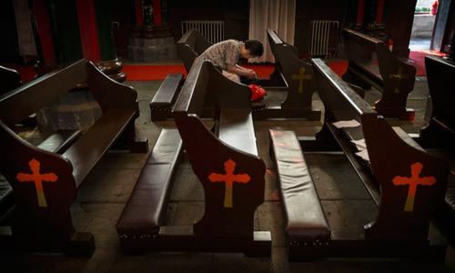 استمرار الاعتداء على مسيحيو الصين وهدم كنيسة سون تشوانغ