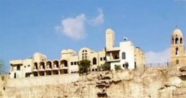 دير العذراء مريم بجبل الطير يفتح أبوابه أمام الزوار