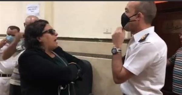 محامي سيدة المحكمة يعلن انسحابه من الدفاع عنها.. تعرف على الأسباب