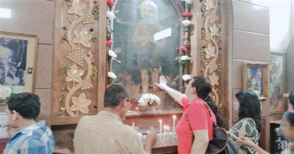«انبا برسوم العريان ».. الدير الذي روى عطش الأقباط للكنيسة بعد كورونا (فيديو وصور)