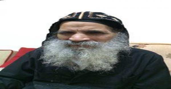 دير الانبا توماس بالخطاطبة: الاحتفال بتذكار نياحة القمص إبرآم قاصر على رهبان الدير