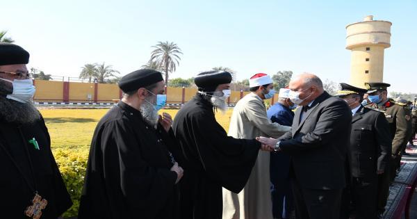 الكنيسة القبطية بقنا ونقادة يشاركا في احتفالات عيد الشرطة الـ 69