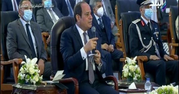 بسبب صورة سيئة.. السيسي يقاطع وزير الزراعة ويوجه للمصريين رسالة.. شاهد