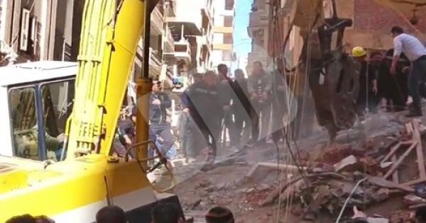 3 قتلى ومصابين فى منزل المحلة المنهار