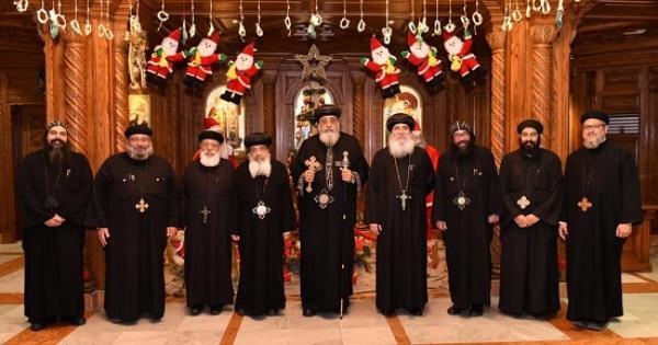 البابا يجتمع بسكرتارية المجمع المقدس