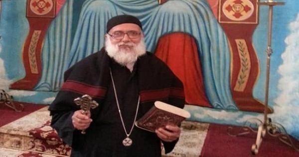 وفاة كاهن كنيسة الشهيد مارجرجس بطموه بعد ما يقرب من نصف قرن خدمة كهنوتية