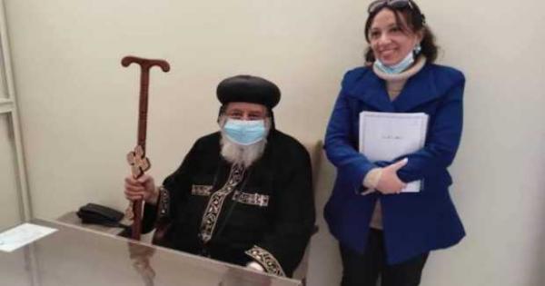 البابا تواضروس يبارك مسلسل أسطورة فارس
