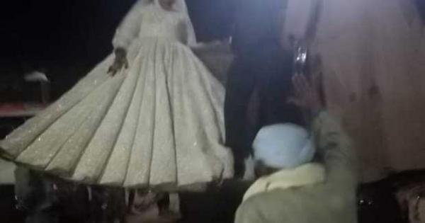 صور.. زفاف على «لودر» فى الأقصر