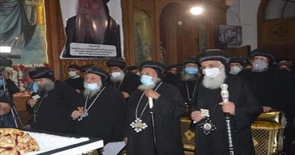 محافظ المنيا لأقباط بني مزار: كلنا شركاء في الوطن تجمعنا رسالة السماء والتعاليم المقدسة