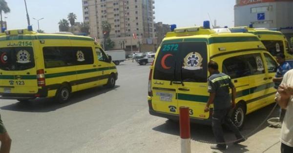 إصابة أمين شرطة و5 مجندين فى انقلاب سيارة ببنى سويف