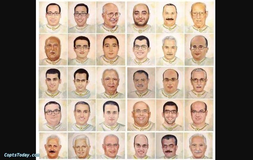 إيبارشية طنطا تُحيي تذكار استشهاد شهداء طنطا الرابع
