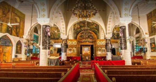 لعدم الالتزام.. إيقاف القداسات فى كنيسة الشهيدين أبى سيفين ودميانة بشبرا
