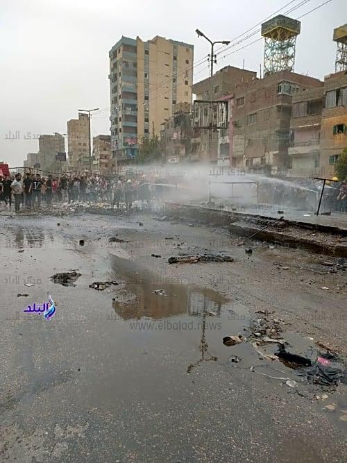 إنقاذ شبرا الخيمة من كارثة محققة .. صور