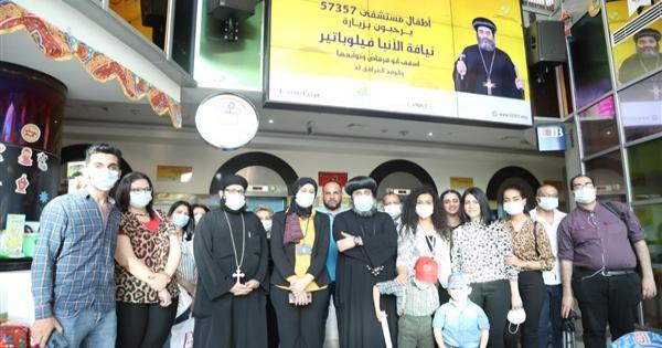 بالصور.. أسقف أبوقرقاص يزور مستشفى 57357