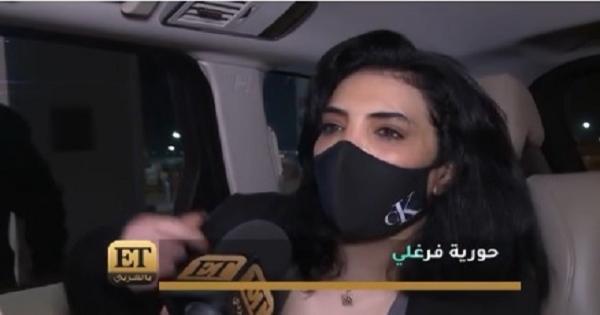 حورية فرغلي : هو أنا عملت إيه وحش يا جماعة؟ -فيديو