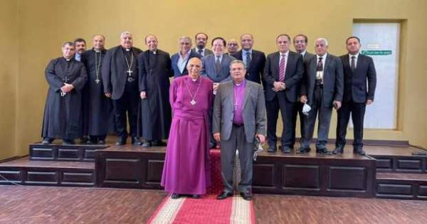 رئيس الأسقفية: جميع الكنائس أعضاء فى جسد المسيح الواحد