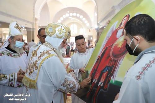 رسامة شمامسة لـ 6 كنائس في عيد  أبونا يسى ميخائيل بإيبارشية طما - صور