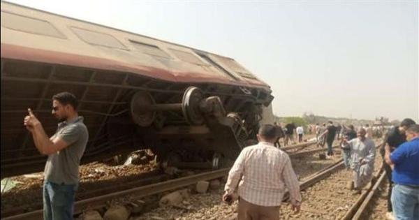 أول تعليق من «السكة الحديد» بشأن حادث قطار بنها